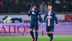 Thiago Silva (l.) wird im Rückspiel gegen Dortmund fehlen
