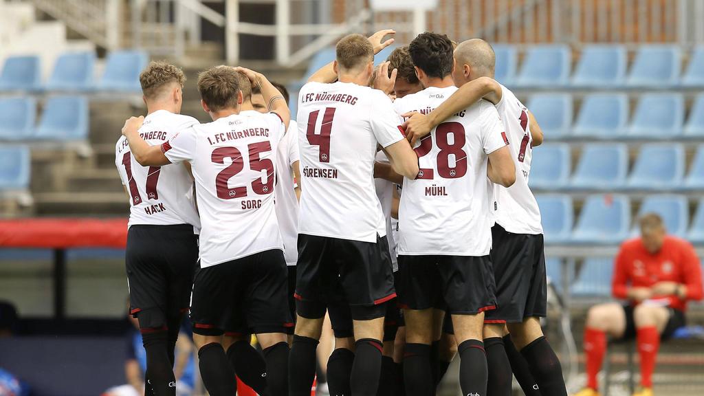 Der 1. FC Nürnberg bezieht ein kurzes Trainingslager