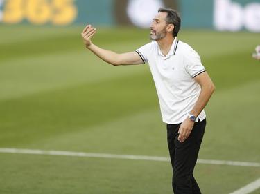 Vicente Moreno sigue por el momento en el Mallorca.