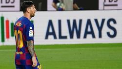 Lionel Messi und der FC Barcelona stehen in der Champions League unter großem Druck