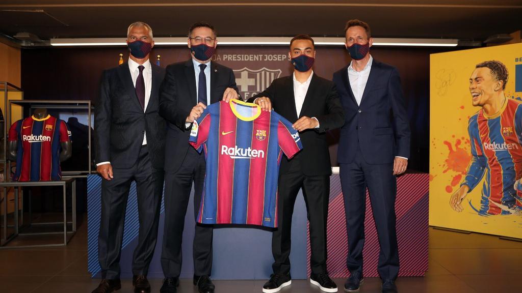 Sergino Dest entschied sich für den FC Barcelona