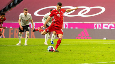 Der FC Bayern plant fest mit Robert Lewandowski