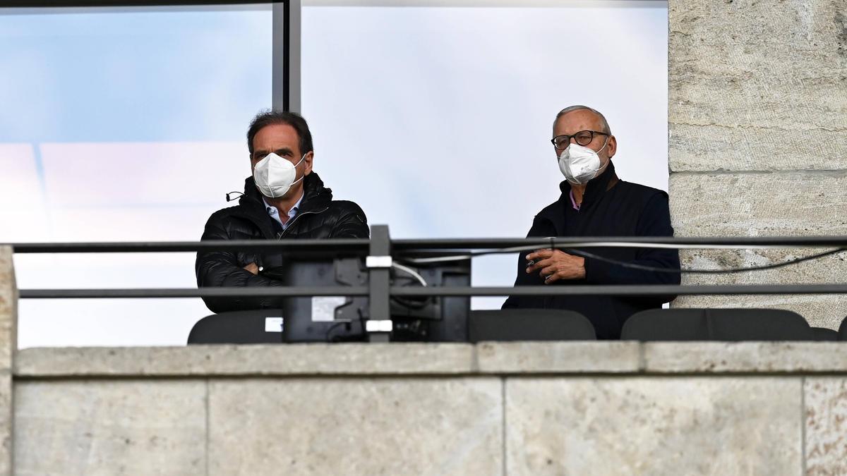 Die Bosse von Hertha BSC räumten Fehler ein