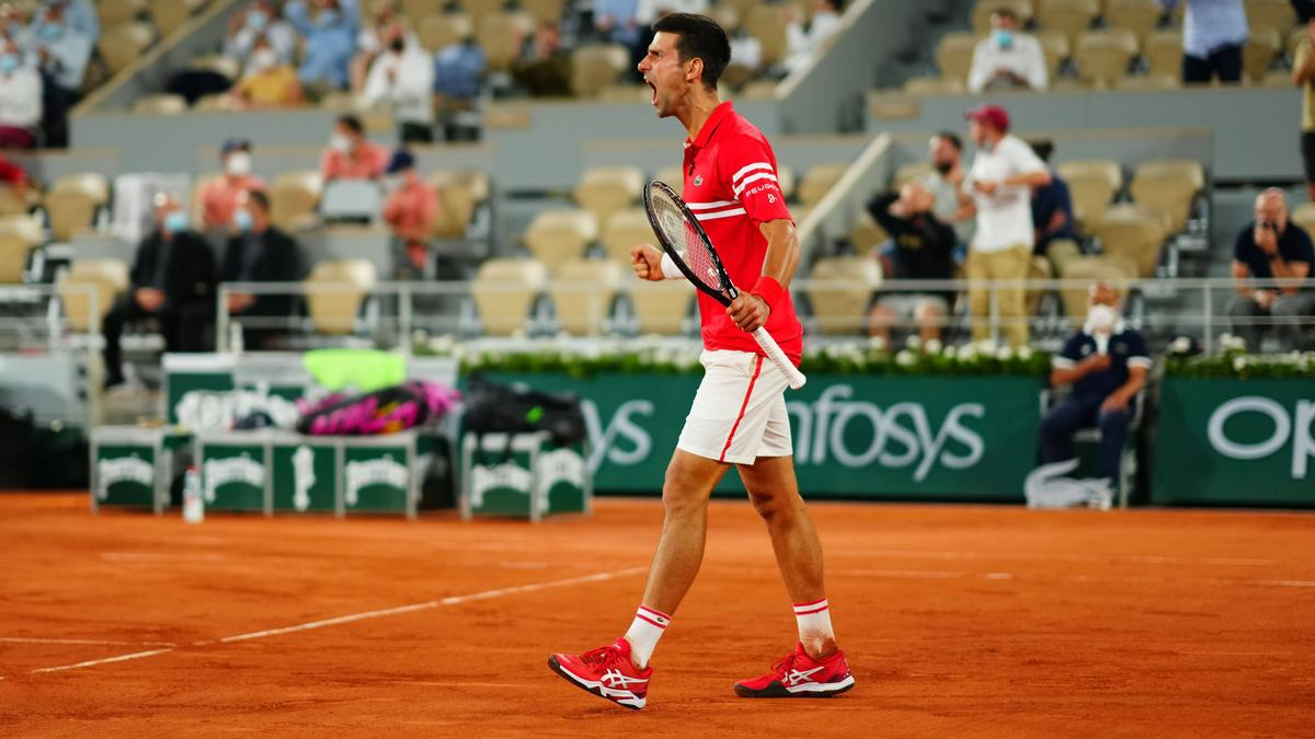 Novak Djokovic hat Rafael Nadal bei den French Open besiegt