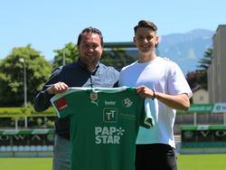 Felix Bacher (r.) kehrt nach Tirol zurück