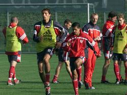 Youngster im Training eifrig