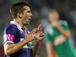 Alexander Gorgon will diesmal beim Derby mehr als nur Tore bejubeln