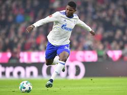 Schalkes Stürmer Breel Embolo spielte gegen Bayern München über die volle Distanz