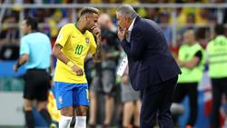 Neymar und Tite sind mit Brasilien gegen die US-Auswahl gefordert