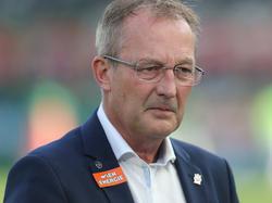 Rapid-Sportdirektor Fredy Bickel holte zum Rundumschlag aus