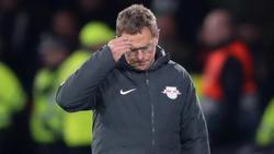 War nach der Niederlage ziemlich angefressen: RB-Coach Ralf Rangnick