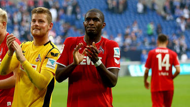 Timo Horn (l.) freut sich auf Anthony Modeste