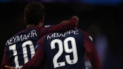 Haben sich bei Länderspielen verletzt: Neymar und Kylian Mbappé