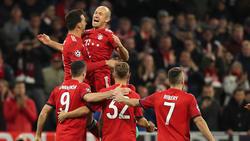 Der FC Bayern will in Amsterdam gewinnen