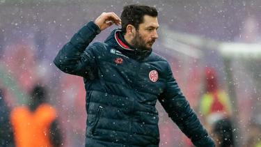 Sandro Schwarz und der FSV Mainz unterlagen Standard Lüttich