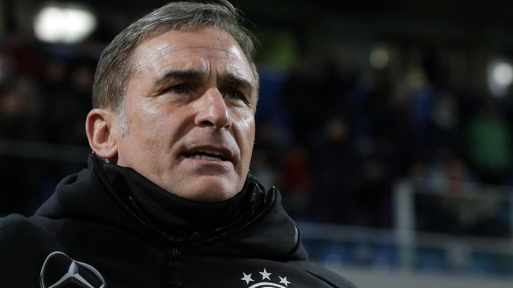 Trainer Stefan Kuntz bezieht mit der U21-Nationalmannschaft in Südtirol Quartier für die EM-Vorbereitung
