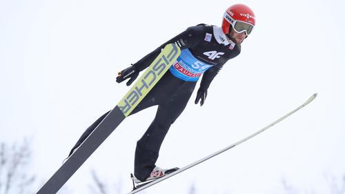 Markus Eisenbichler sprang auf den zweiten Platz