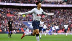 Heung-min Son trifft mit Tottenham Hotspur auf den BVB