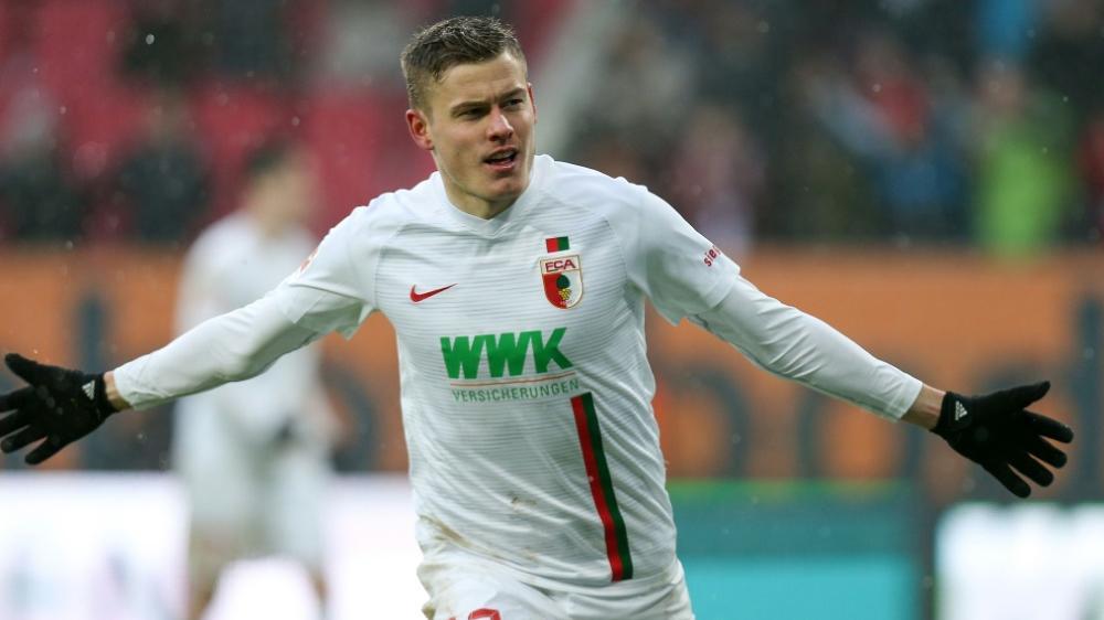 Alfred Finnbogason spielt seit 2016 für den FC Augsburg