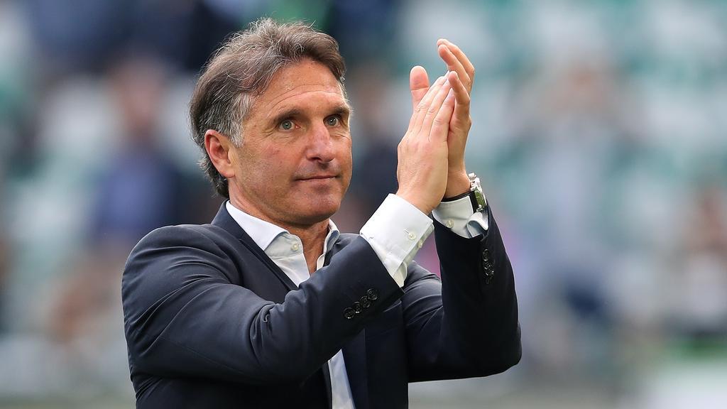 Verlässt den VfL Wolfsburg: Trainer Bruno Labbadia