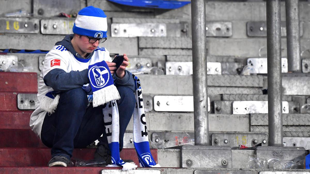Herbe Enttäuschung für die Schalker Fans