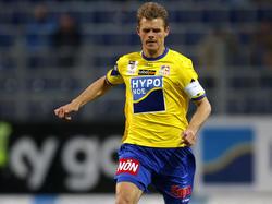Tomasz Wisio führte den SKN St. Pölten in der Ersten Liga als Kapitän zu Meisterehren