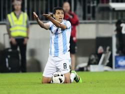 Karim Matmour darf nicht ins Training der 1860-Profis zurückkehren