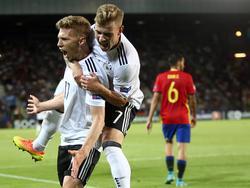 El combinado alemán fue mejor que La Rojita en los 90 minutos. (Foto: Imago)