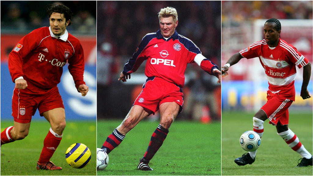 Stefan Effenberg (M.) ist der vielleicht bekannteste Rückkehrer der letzten 20 Jahre beim FC Bayern