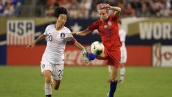 Hye-ri Kim vs. Megan Rapinoe