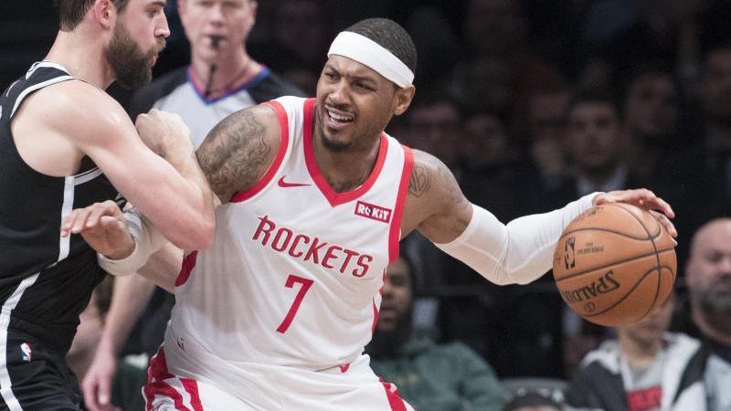 Kehrt in die NBA zurück:Carmelo Anthony