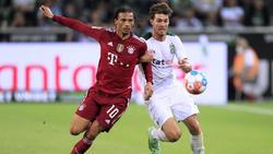 Joe Scally (r.) machte in dieser Saison bereits Bekanntschaft mit dem FC Bayern