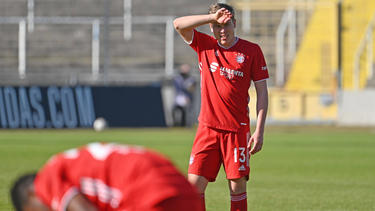 Kilian Senkbeil spielte bis zum Sommer beim FC Bayern