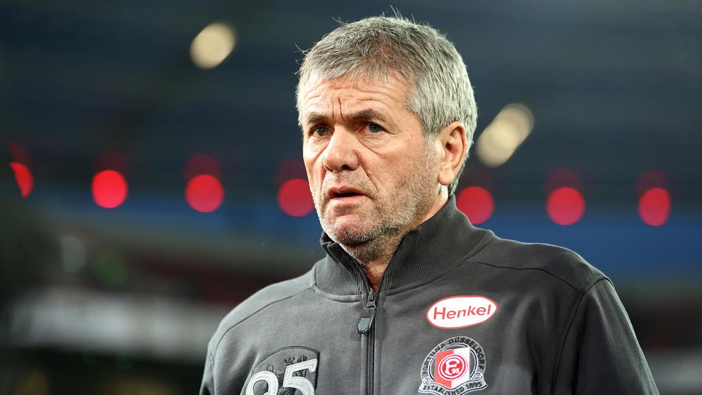 Friedhelm Funkel wurde am Mittwoch bei Fortuna Düsseldorf entlassen