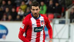 Norman Theuerkauf traf entscheidend für den 1. FC Heidenheim
