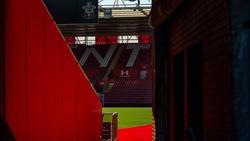 El estadio del Southampton permanece vacío.