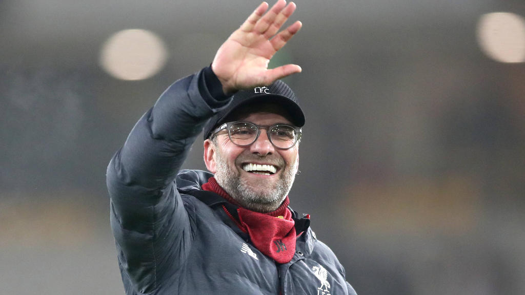 Jürgen Klopp steht mit seinen Reds als Meister fest