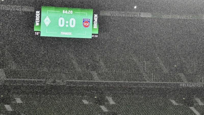 Soll bald ein Bild der Vergangenheit sein:Leere Zuschauerränge im Weserstadion