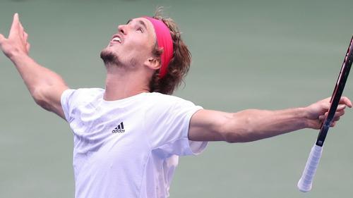 Alexander Zverev erstmals im Halbfinale der US Open