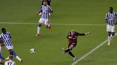 Traf mit seinem schwachen Linken zum 3:0: Sebastian Rode