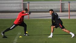 Corentin Tolisso (r.) steht dem FC Bayern wohl wieder zur Verfügung