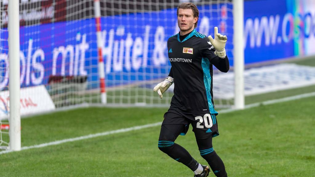 Torwart Loris Karius ist vom FC Liverpool an den 1. FC Union Berlin ausgeliehen