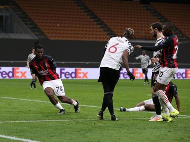 Paul Pogba schoss Manchester United in Mailand zum Sieg