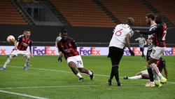 Pogba erzielte das Tor des Tages für Manchester United