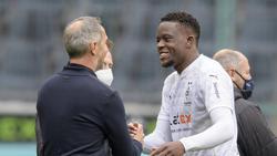 Denis Zakaria (r.) kann gegen Hoffenheim wohl mitwirken