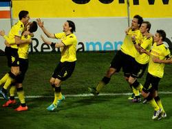 Sieg gegen Bayern!