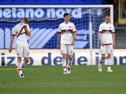 Enttäuschung bei Milan