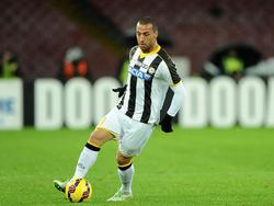 Guilherme dos Santos Torres con el Udinese. (Foto: Getty)
