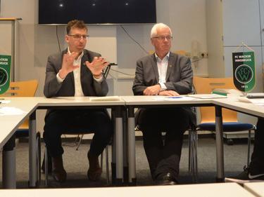 General Manager Alfred Hörtnagl und Präsident Gerhard Stocker