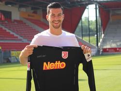 Alexander Weidinger hat seinen Vertrag in Regensburg verlängert